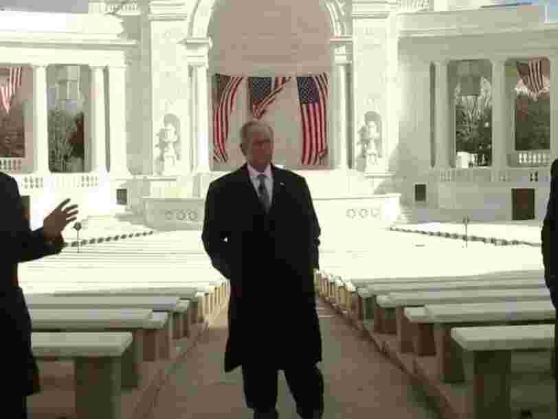 Obama, Clinton et Bush célèbrent dans une vidéo la continuité de la démocratie américaine