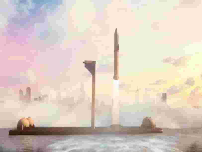 """SpaceX aurait acheté deux plateformes pétrolières pour les transformer en pas de tir """"flottants"""""""