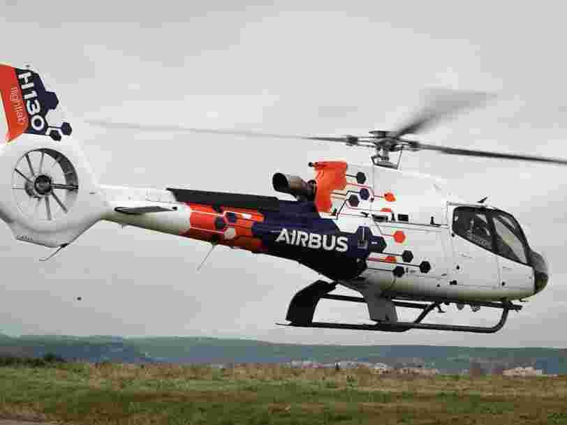 Airbus lance l'hélicoptère 'Flightlab' pour tester de nouvelles technologies