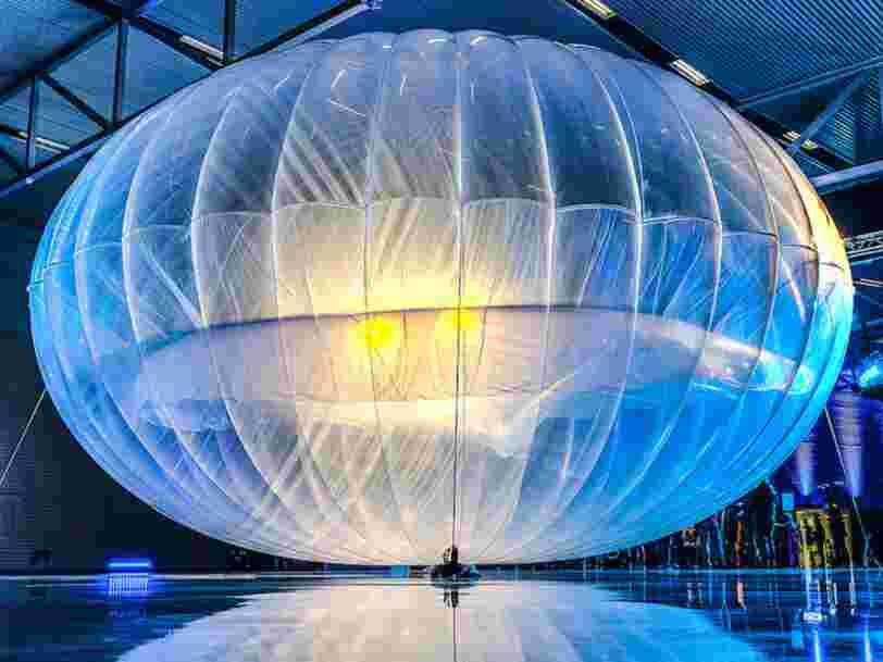 Google abandonne son projet de distribuer internet par des ballons volants