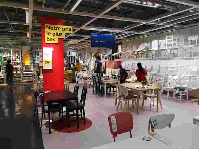 Ikea va bientôt vendre en ligne les pièces détachées de ses meubles pour pouvoir les réparer