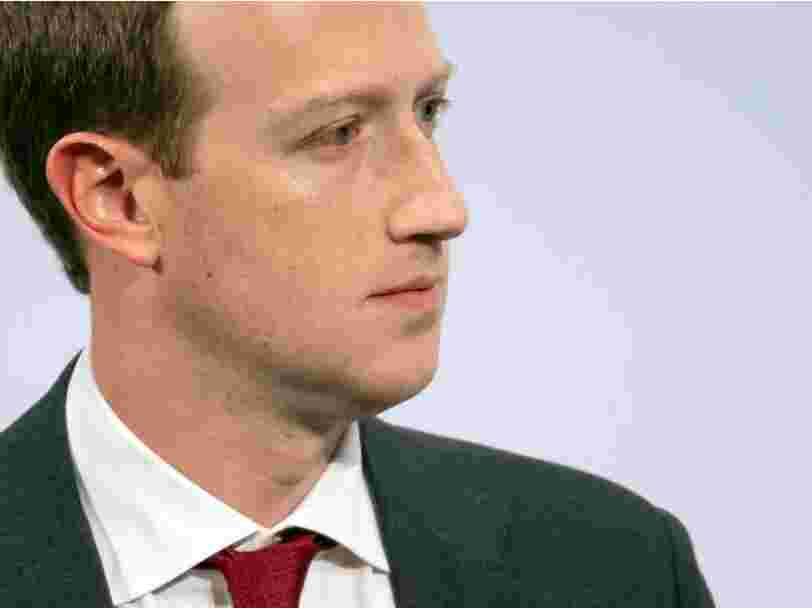 Facebook se préparerait à poursuivre Apple en justice pour pratiques anticoncurrentielles