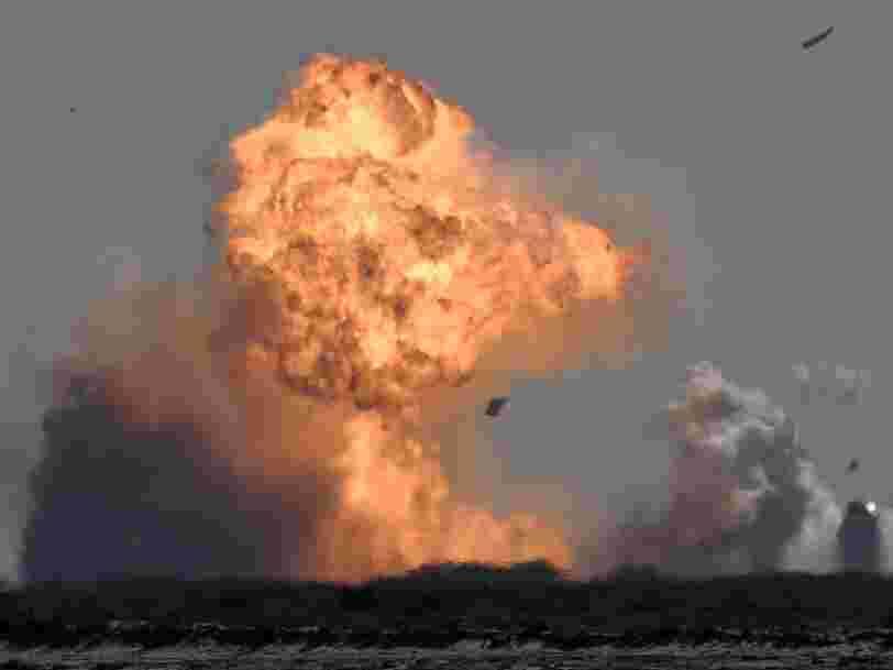 SpaceX : un prototype de fusée s'écrase à nouveau à l'atterrissage lors d'un essai au Texas