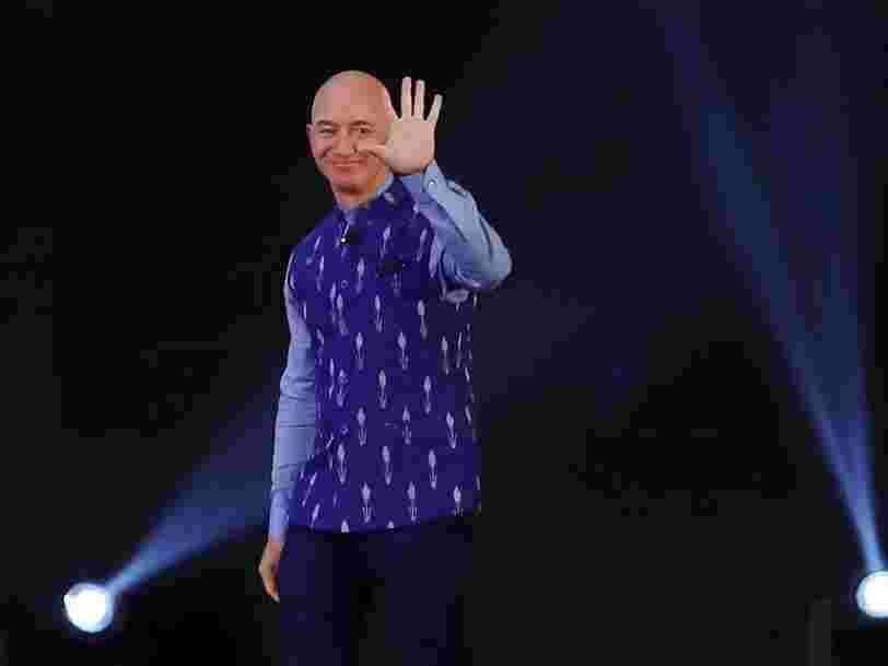Jeff Bezos annonce qu'il va céder son poste de DG d'Amazon cette année