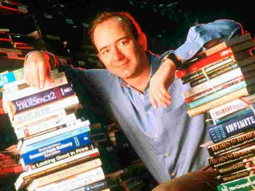 Cette vidéo de Jeff Bezos en 1997 montre pourquoi il a décidé de lancer Amazon