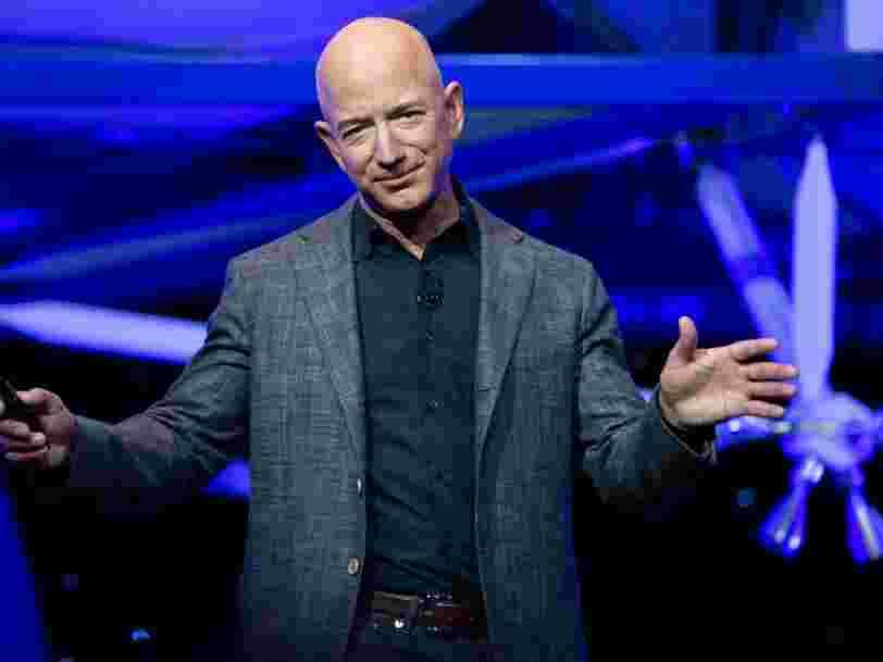 Après Amazon, Jeff Bezos espère coloniser le système solaire avec sa société Blue Origin