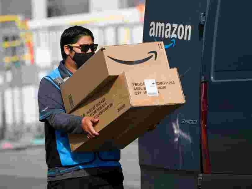 Amazon déploie des caméras pour surveiller ses livreurs '100% du temps'
