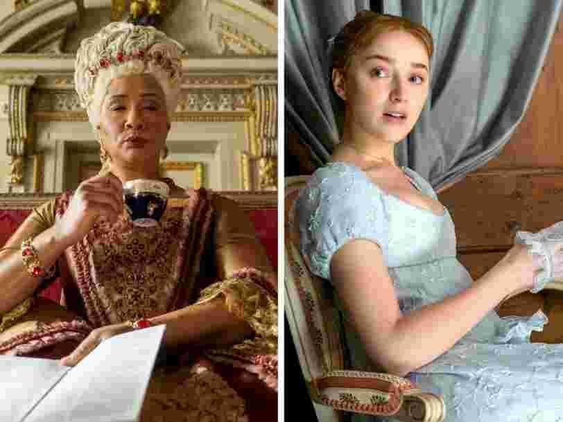 La série 'La Chronique des Bridgerton' sur Netflix fait flamber les ventes de corsets