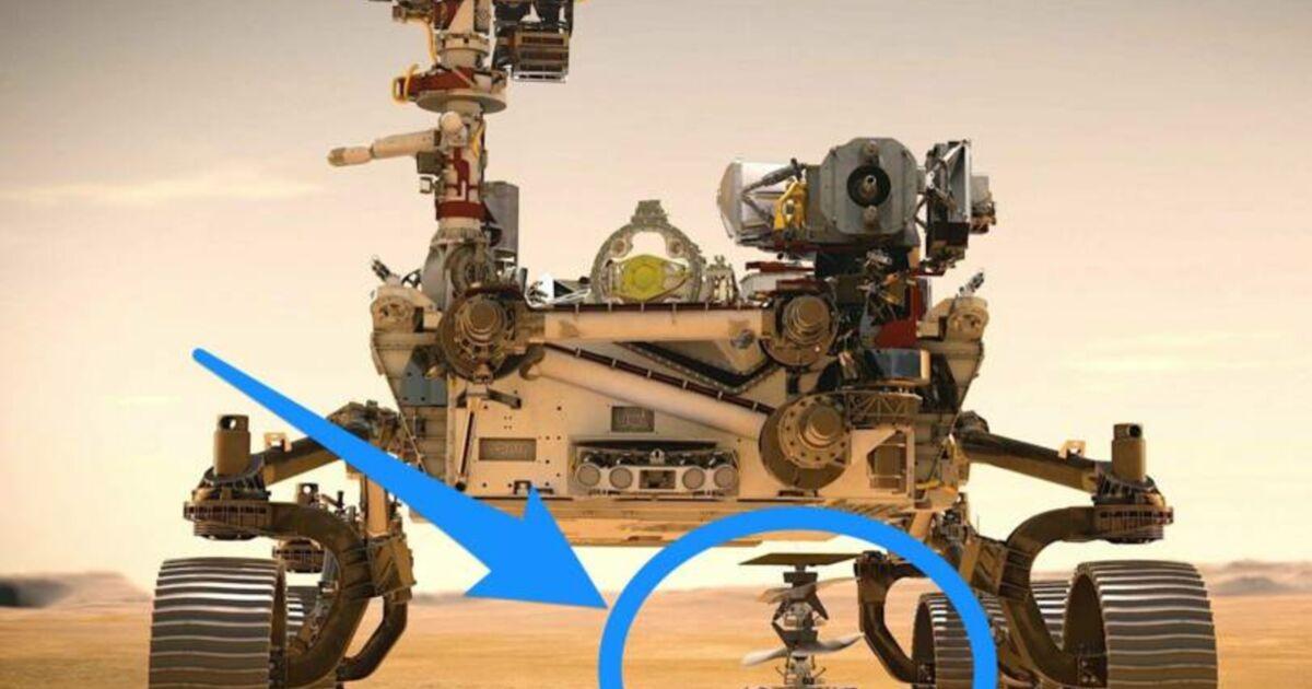 Le tout premier hélicoptère spatial de la NASA s'approche de Mars - Business Insider