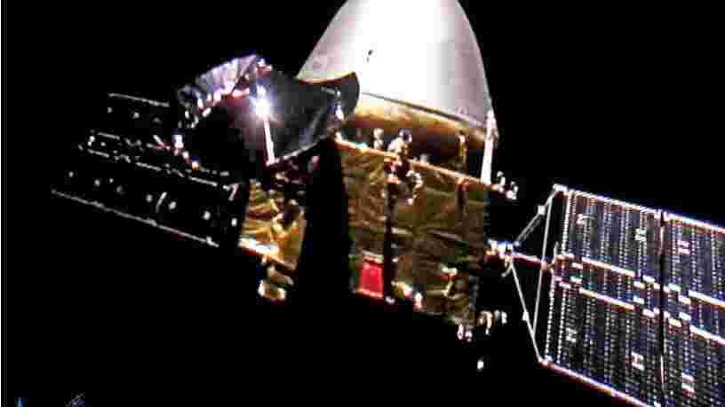 La sonde chinoise Tianwen-1 se place en orbite autour de Mars