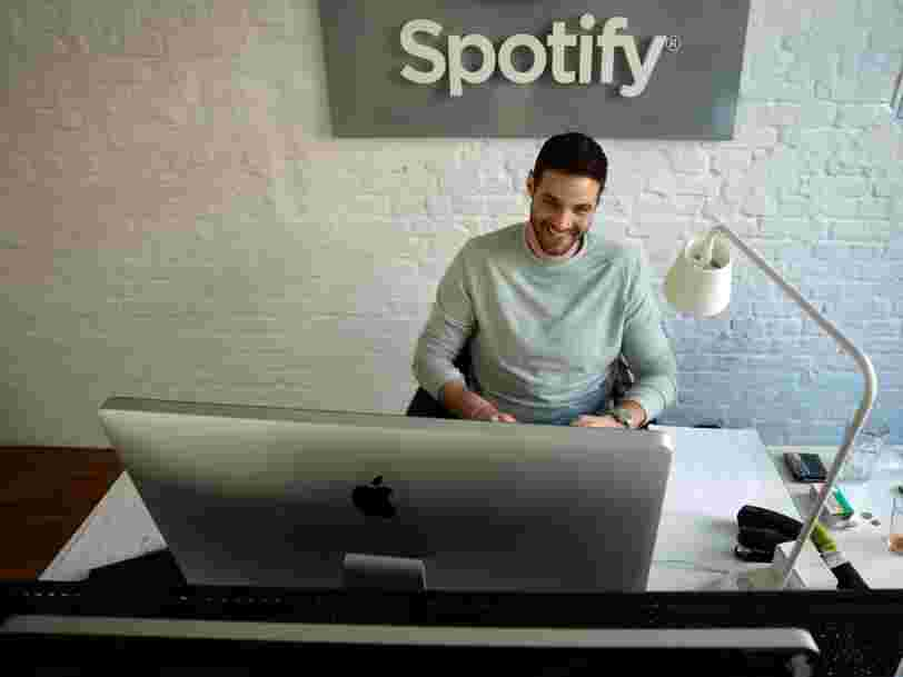 Spotify permet désormais à ses employés de travailler là où ils le souhaitent