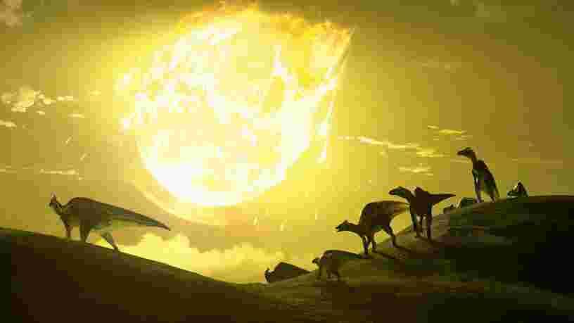 L'extinction des dinosaures pourrait venir d'une comète et non d'un astéroïde, selon une étude