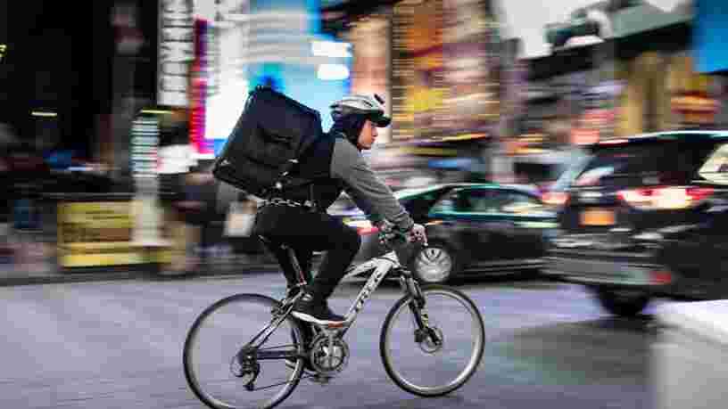 Uber Eats, Deliveroo, Frichti... Des livreurs de repas s'engagent pour réduire les emballages