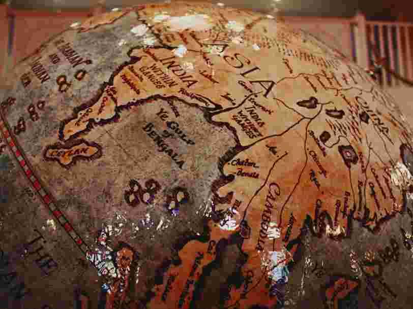 Voici la carte du monde la plus précise créée à ce jour, elle ressemble à un disque vinyle