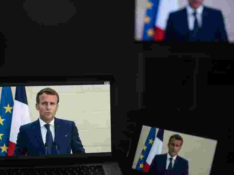 Emmanuel Macron promet 1Md€ pour assurer la cybersécurité des sites sensibles