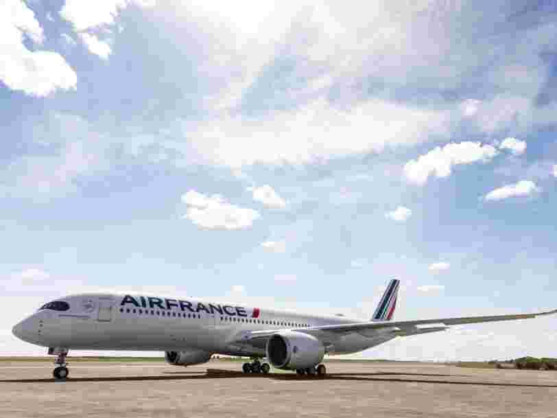Air France-KLM annonce des résultats en chute libre à cause du Covid
