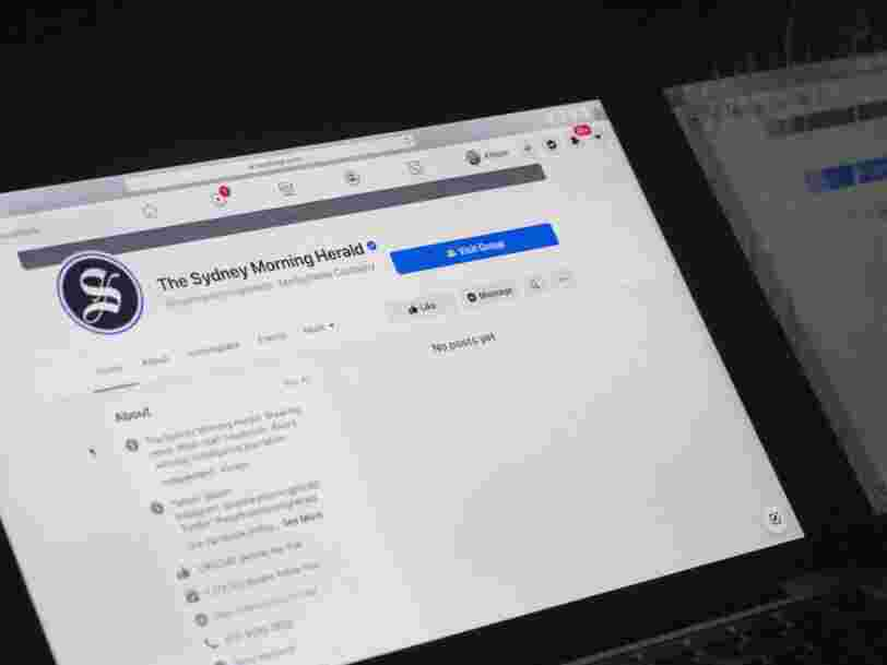 Pourquoi Facebook a supprimé les publications des médias australiens