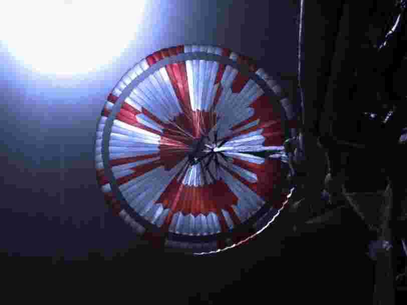 Mars comme si vous y étiez : Perseverance filme son atterrissage
