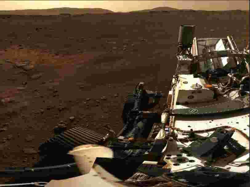 La Nasa dévoile un panorama exceptionnel à 360 °de Mars à partir de 142 photos envoyées par Perseverance