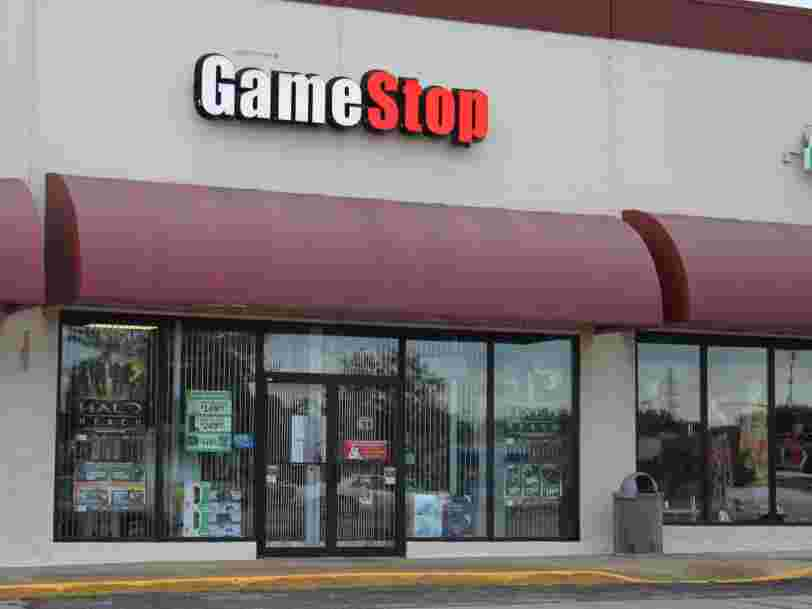 L'action Gamestop a flambé de plus de 100% à la clôture de Wall Street