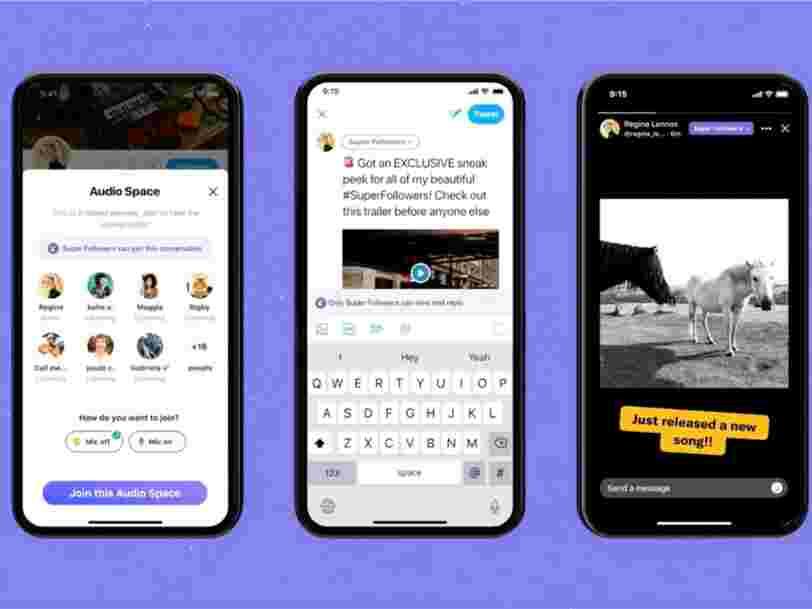 Twitter lance les 'Super Follows', des tweets exclusifs et payants pour rémunérer les influenceurs