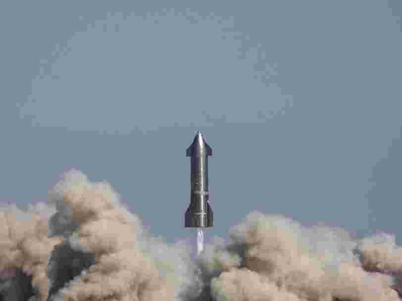 Un prototype de la fusée Starship d'Elon Musk explose quelques minutes après son atterrissage
