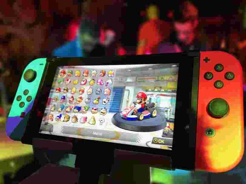 La nouvelle Nintendo Switch 4K sortirait cette année avec un écran OLED plus grand