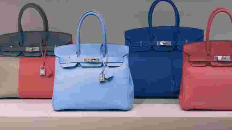 Voici pourquoi les sacs Birkin d'Hermès sont si chers
