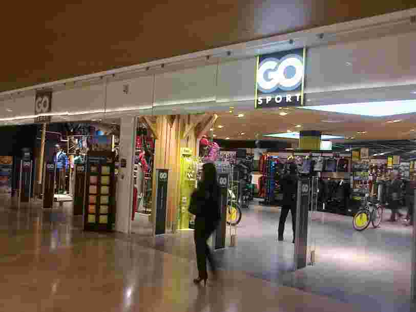 Go Sport pourrait être vendu par Rallye, maison-mère de Casino, pour 1 euro symbolique