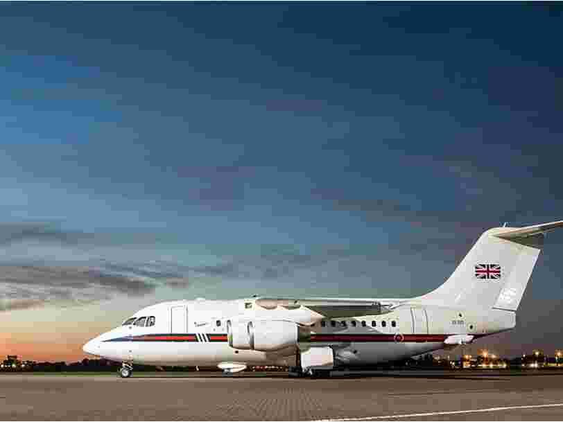 La famille royale britannique va se séparer de ses avions