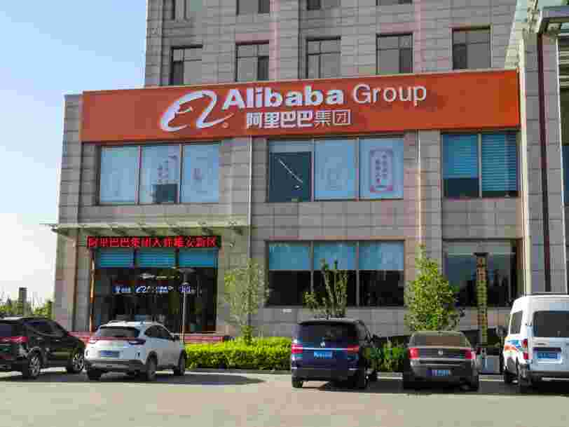 Vers une amende record pour le groupe chinois Alibaba