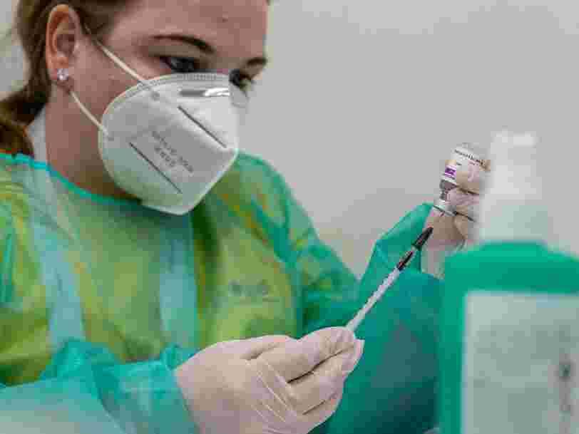 La France suspend à son tour l'utilisation du vaccin AstraZeneca