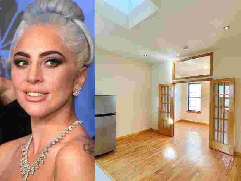 Vous pouvez louer l'ancien appartement de Lady Gaga à Manhattan pour 2 000 dollars par mois