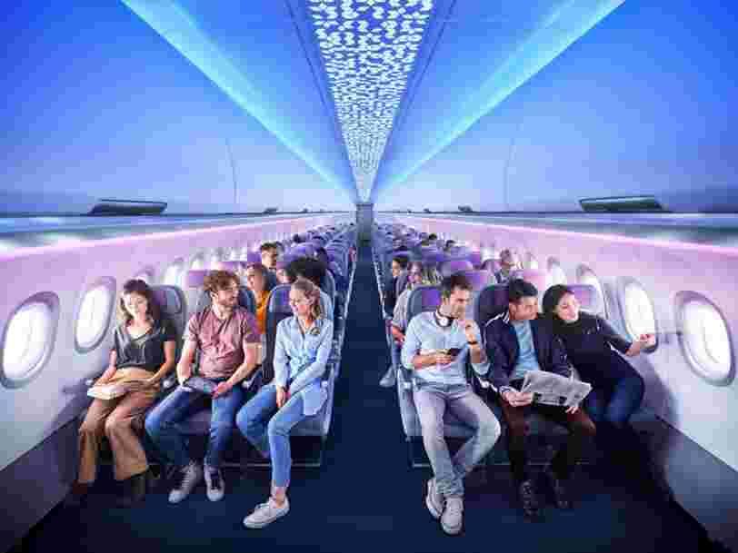 Airbus finalise l'installation de sa nouvelle cabine Airspace à bord d'un A321LR