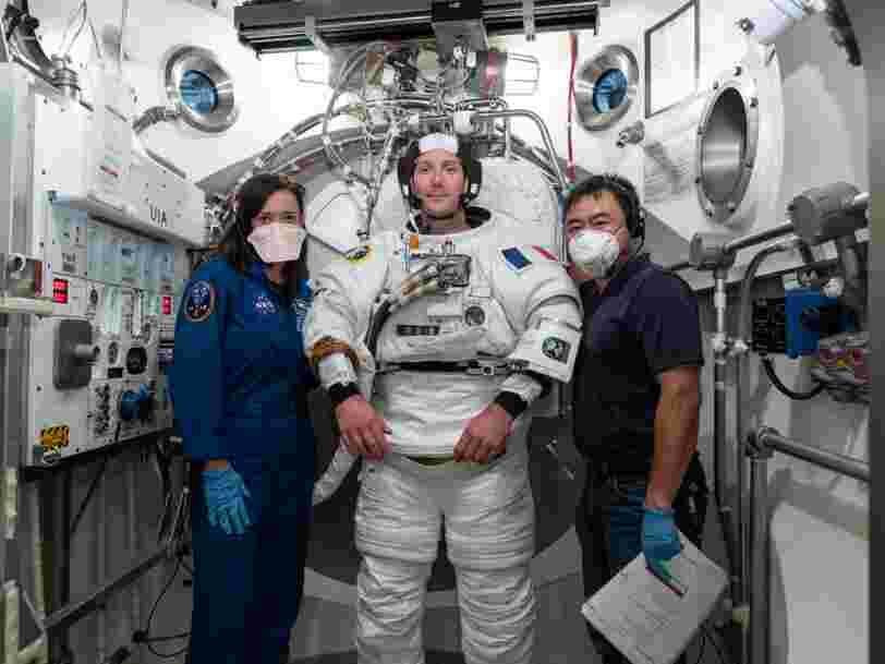 Thomas Pesquet, premier astronaute français à être nommé commandant de bord sur l'ISS
