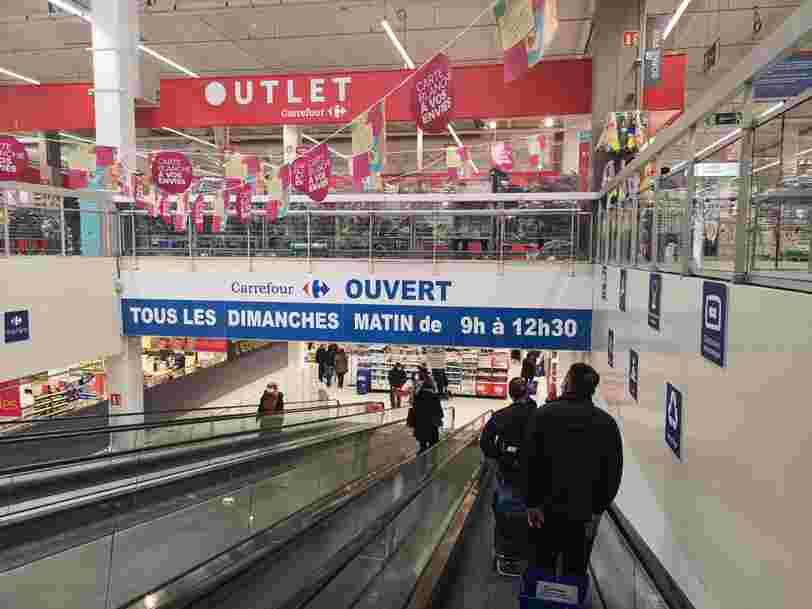 Carrefour se dit prêt à proposer 1 million d'autotests Covid dans ses supermarchés