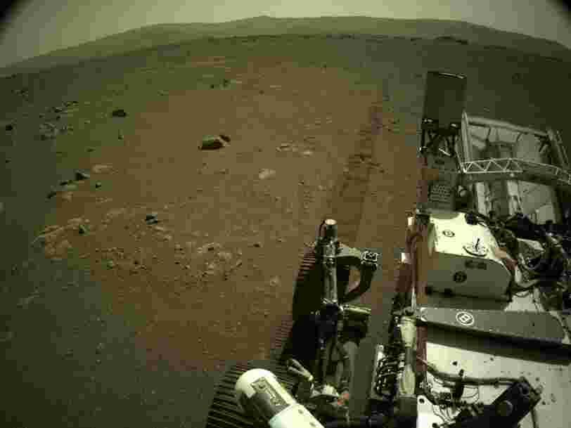 Écoutez les sons enregistrés sur Mars par le rover Perseverance de la Nasa