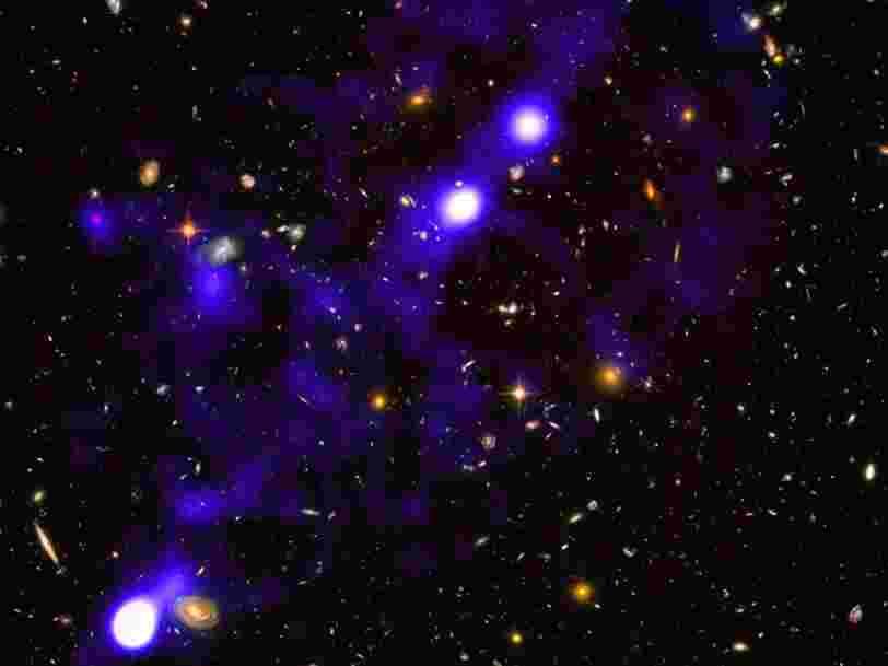 Un télescope révèle les premières images de la 'toile cosmique' dans l'Univers