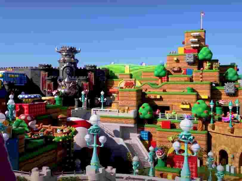 Super Nintendo World vient d'ouvrir ses portes dans le parc Universal Studios au Japon