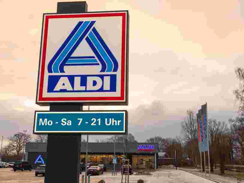 Près de 120 magasins Leader Price ont déjà été transformés en Aldi
