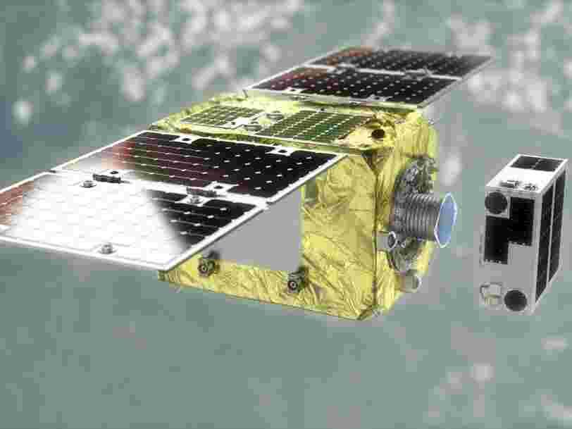 Une mission de démonstration pour 'nettoyer' les débris spatiaux a été lancée