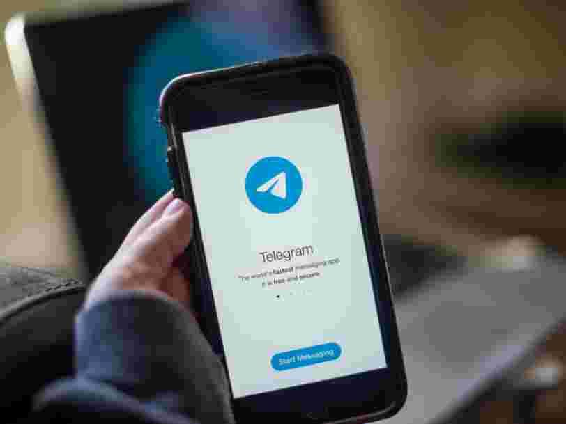 Telegram, rivale de WhatsApp, a levé 1Md$ pour financer sa croissance