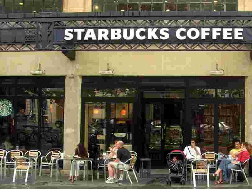Les États européens comptant le plus de Starbucks