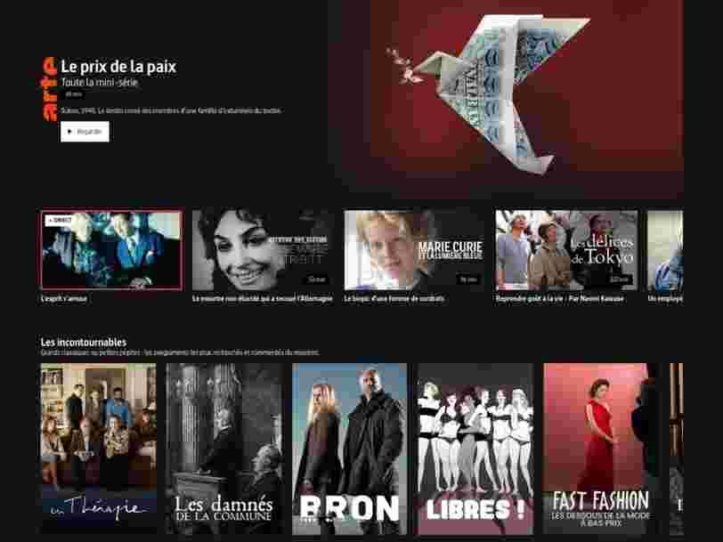 La plateforme Arte.tv bénéficiera d'un canal sur la TNT dès avril, et Salto va suivre