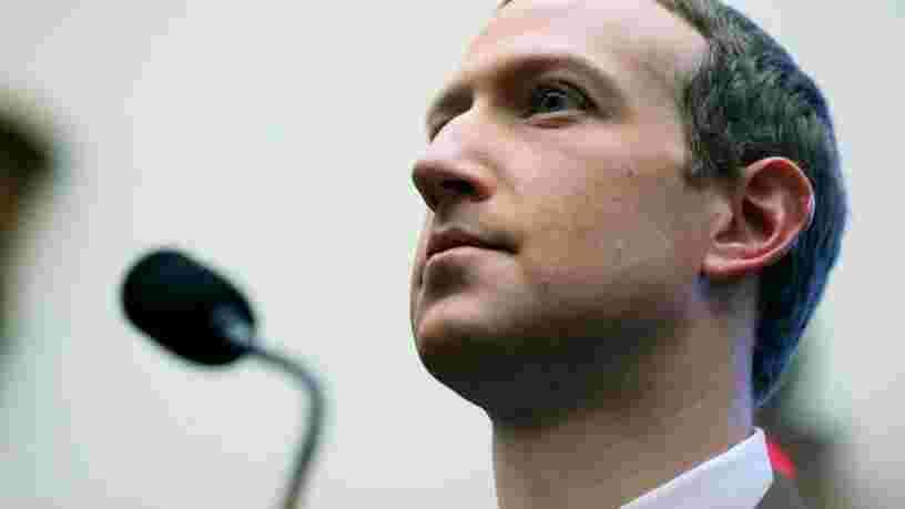 Mark Zuckerberg veut que Donald Trump soit tenu responsable de la prise d'assaut du Capitole