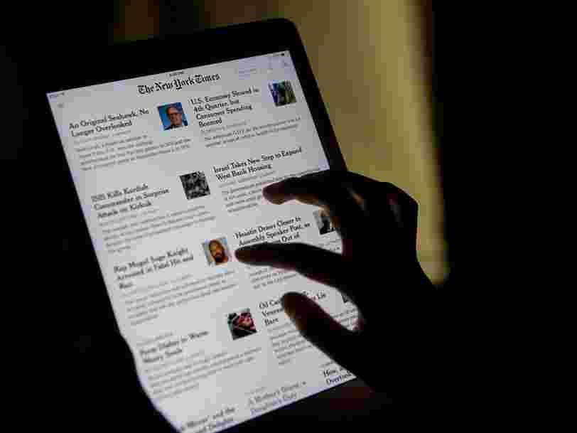 Un article du New York Times a été vendu sous forme de jeton NFT pour plus de 500 000 $