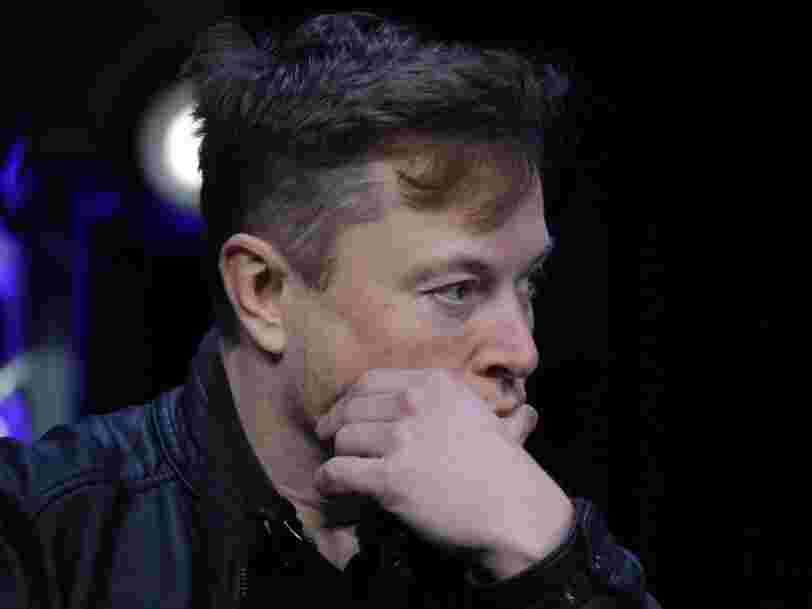 Elon Musk sommé de retirer un tweet qui menaçait des employés de Tesla