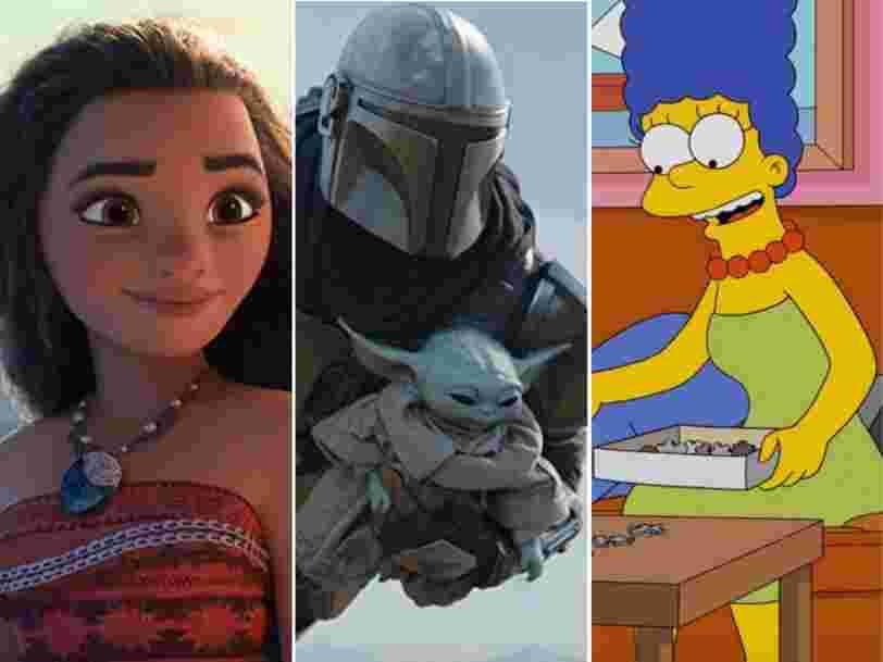 Les films et séries les plus populaires sur Disney+ en France depuis son lancement il y a un an