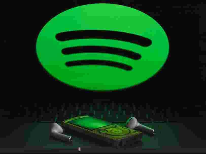 Spotify lance 'My daily', une playlist qui mixe musique et podcasts d'actualité