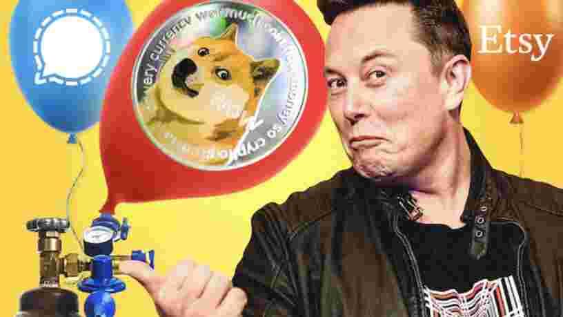 Le dogecoin flambe après qu'Elon Musk a annoncé l'envoi de la cryptomonnaie 'sur la Lune'